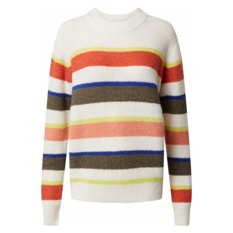 Kaffe Sweter 'Toma' mieszane kolory / kremowy