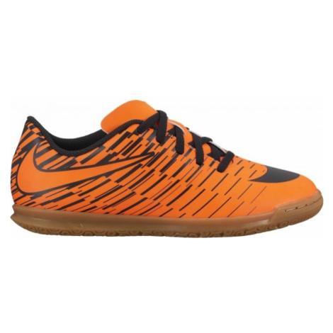 Nike JR BRAVATA II IC czarny 5Y - Obuwie piłkarskie halowe dziecięce
