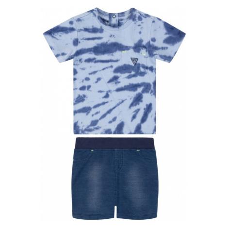 Komplet t-shirt i spodenki Guess