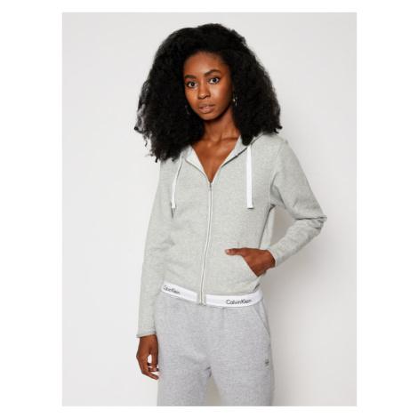 Calvin Klein Underwear Bluza QS5667E Szary Regular Fit