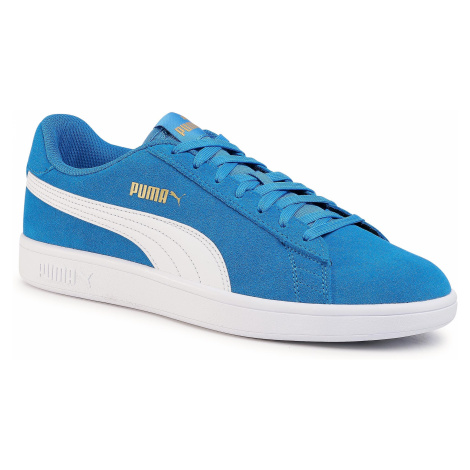 Sneakersy PUMA - Smash V2 364989 40 Palace Blue/White/Team Gold