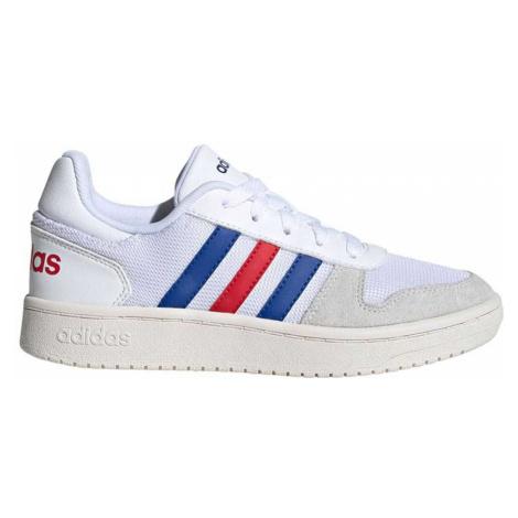 Adidas Hoops 2.0 Młodzieżowe Białe (FW9120)