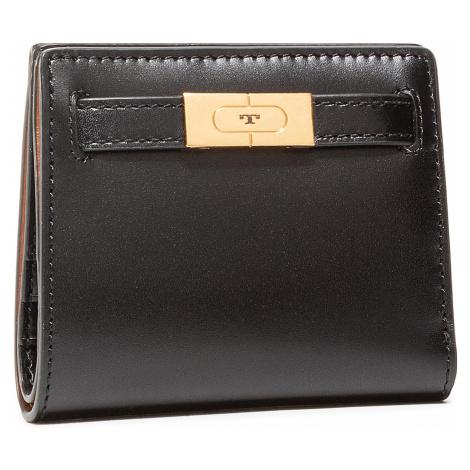 Mały Portfel Damski TORY BURCH - Lee Radziwill Mini Wallet 73584 Black 001