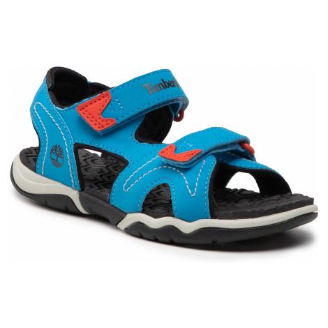 Sandały TIMBERLAND - Advanture Sneaker TB0A2APYU151 Bright Blue