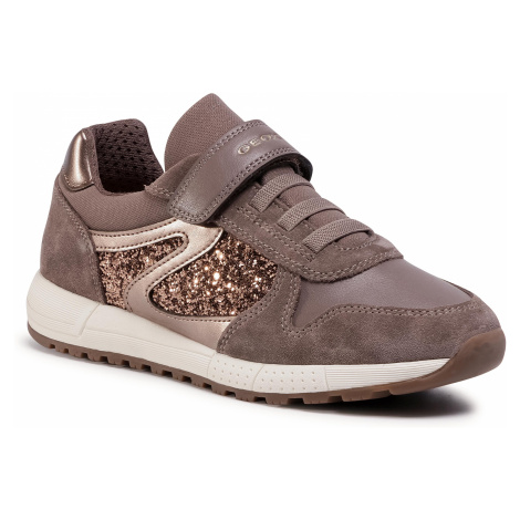 Sneakersy GEOX - J Alben G. A J04AQA 022EW C9006 D Smoke Grey