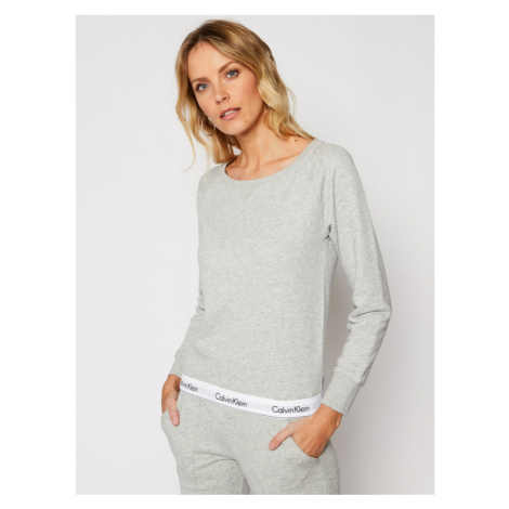 Calvin Klein Underwear Bluza Modern 000QS5718E Szary Regular Fit
