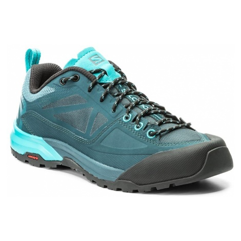 Trekkingi SALOMON - X Alp Spry W 398602 20 V0 Mallard Blue/Reflecting Pond/Blue Bird