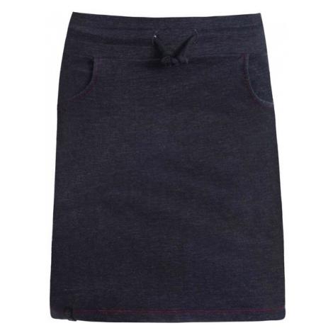 Spódnica Damska z Bawełny   Ciemnoszara Simplex Elasticus Woox