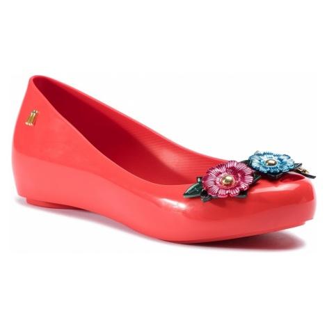 Baleriny MELISSA - Ultragirl Flower Chrom 32655 Red/Green/Blue 53469