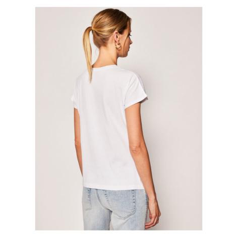 Just Cavalli T-Shirt S04GC0374 Biały Regular Fit