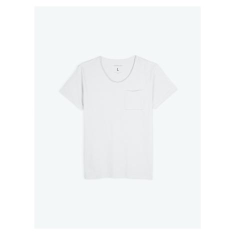 GATE Basic koszulka slim fit z kieszenią na piersi