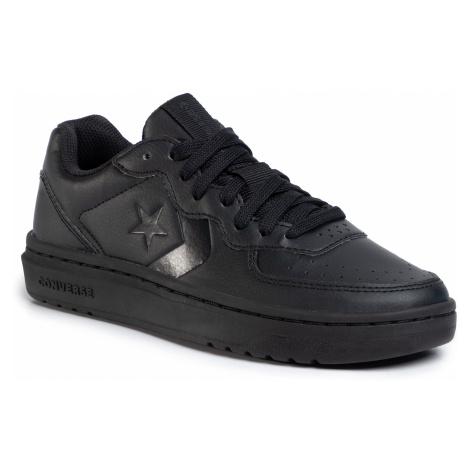 Sneakersy CONVERSE - Rival Ox 164444C Black/Black/Black
