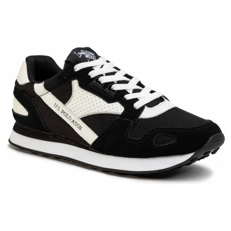 Sneakersy U.S. POLO ASSN. - Justin FLASH4117S0/YM1 Blk/Whi
