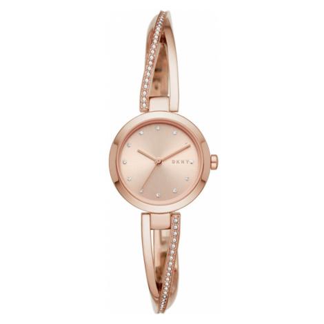 Zegarek DKNY - Crosswalk NY2831 Rose Gold/Rose Gold