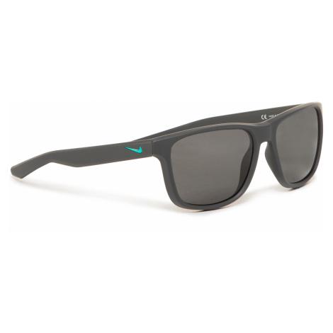 Okulary przeciwsłoneczne NIKE - Flip EV0990 061 Matte Anthracite/Grey Lens