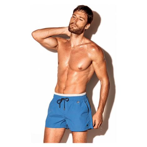 Męskie szorty kąpielowe David 52 Atlantis niebieskie