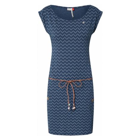 Ragwear Letnia sukienka offwhite / niebieski denim