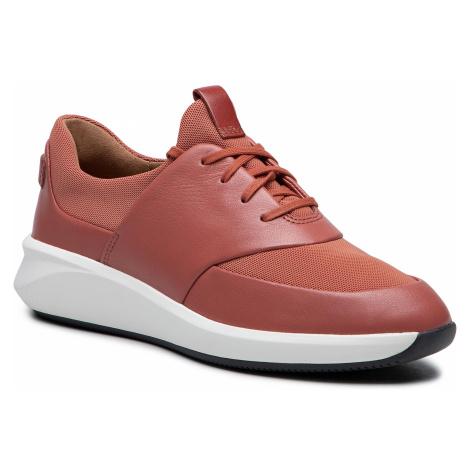 Sneakersy CLARKS - Un Rio Lace 261568794 Brlck Red