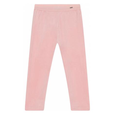Mayoral Spodnie dresowe 727 Różowy Slim Fit