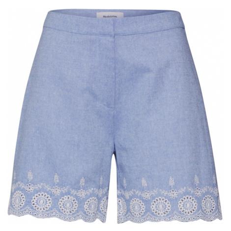 Modström Spodnie 'Craig' jasnoniebieski / biały