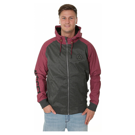 kurtka Nugget Deploy 3 - B/Heather Gray/Heather Maroon