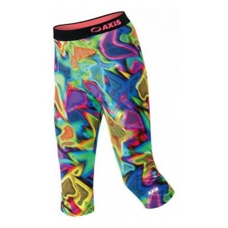 Axis FITNESS 3/4 SPODNIE - Spodnie fitness dziewczęce