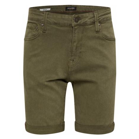 JACK & JONES Spodnie oliwkowy