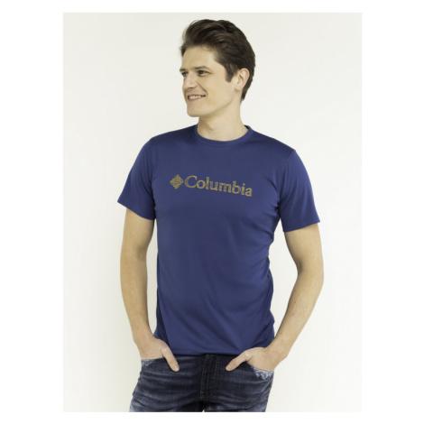 Columbia Koszulka techniczna Graphic 1533291 Granatowy