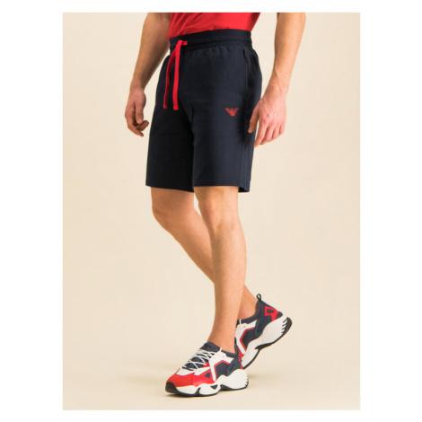 Emporio Armani Underwear Szorty sportowe 111004 9P571 00135 Granatowy Regular Fit