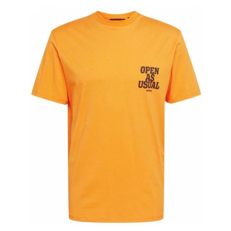 Mennace Koszulka 'Community' pomarańczowy