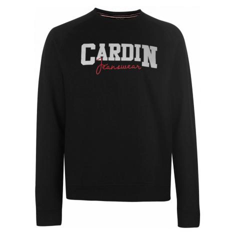 Pierre Cardin Jean Print Crew Sweater Mens