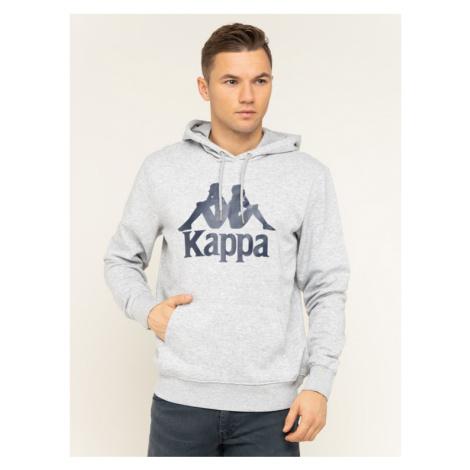 Kappa Bluza Taino 705322 Szary Regular Fit