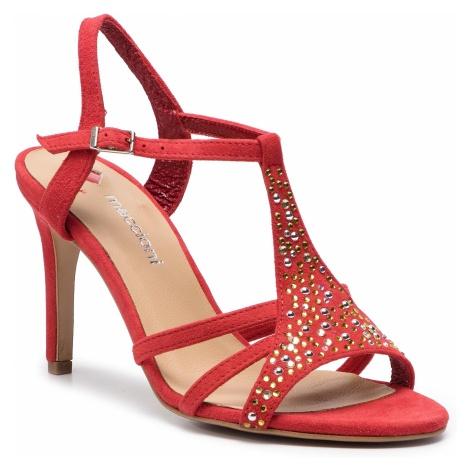 Sandały MACCIONI - 912.124.9315 Czerwony
