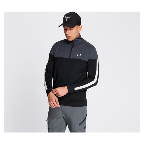 Under Armour Sportstyle Pique Track Jacket Stealth Gray/ White