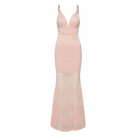 WAL G. Letnia sukienka różowy pudrowy