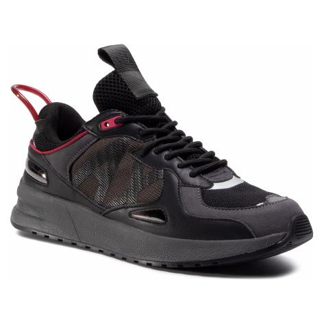 Sneakersy ARMANI EXCHANGE - XUX070 XV241 K469 Black/Dk Green