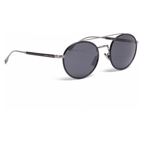 Okulary przeciwsłoneczne BOSS - 0886/S Dk Ruthenium KJ1 Hugo Boss