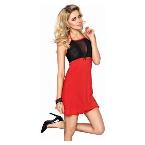 Koszulka erotyczna Carina red DKaren