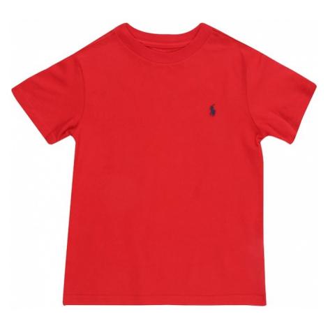 POLO RALPH LAUREN Koszulka 'CN TEE' czerwony