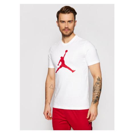 Nike T-Shirt Jordan Jumpman CJ0921 Beżowy Standard Fit