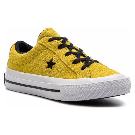 Tenisówki CONVERSE - One Star Ox 363690C Bold Citron/Black/White