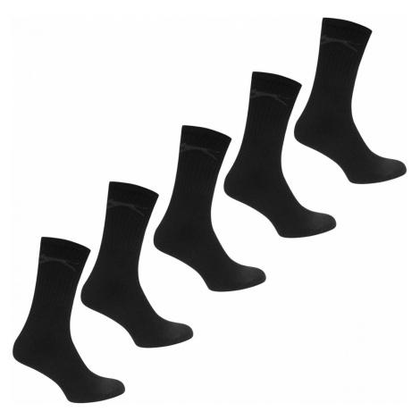 Slazenger 5 Pack Crew Socks Mens
