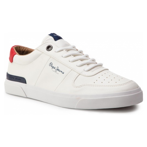 Sneakersy PEPE JEANS - Traveller PMS30539 White 800