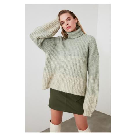 Trendyol Mint Gradient KnitWear Sweater