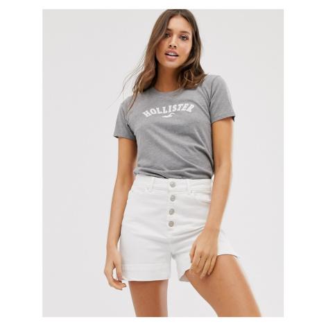 Hollister boyfriend t-shirt in grey