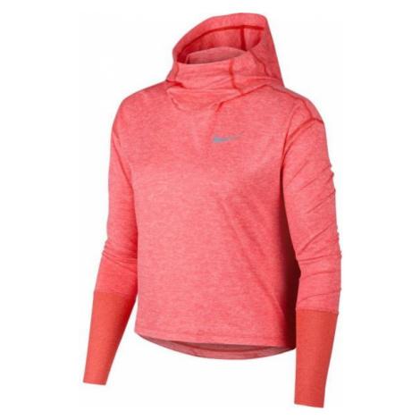 Nike ELMNT HOODIE pomarańczowy XL - Bluza do biegania damska