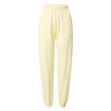Worst Behavior Spodnie 'Zia' żółty