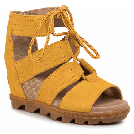 Sandały SOREL - Joanie II Lace NL3552 Golden Yellow 705