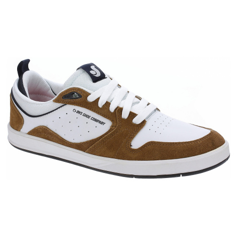 buty DVS Ignition SC - Brown/White/Suede Leather