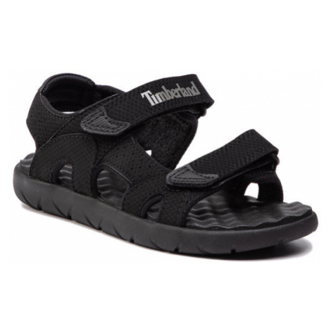 Timberland Sandały Perkins Row Strap Sandal TB0A1QXQ0011 Czarny